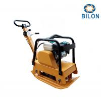 China Two - Way Walk Type Vibratory Plate Compactor With Honda GX160 5.5HP Engine on sale