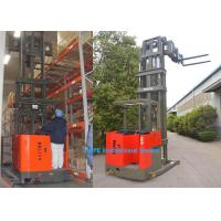 Cheap 6m Lifting Height Narrow Aisle Forklift Truck With Fork HD Display Non Blind Area for sale