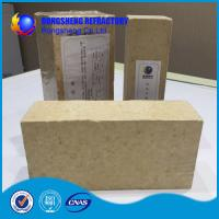 Cheap Insulating Silica Fire Brick For Glass Kiln , Acid Resistance Refractory Fire Bricks wholesale