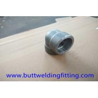 Cheap Alloy 32750 STD UNS S32750 Forged Pipe Fittings 90 Degree LR Forged Elbow ASME B16.11 for sale