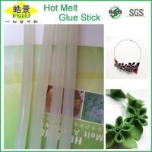 Cheap Translucent White Hot Melt Adhesive Bar , Silicone Hot Glue Sticks For Hot Glue Gun wholesale