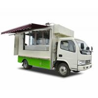 Cheap Outdoor DFAC 4x2 / 4x4 BVG Mobile Food Truck For Army , Forces ,Troops Camping for sale