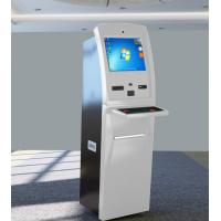 China Internet Banking Kiosk , Financial Cash Payment Kiosk Explosion Proof Design on sale