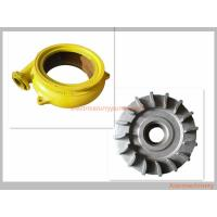 Cheap Cast Iron Long Wearing Centrifugal Slurry Pump Parts OEM / ODM Availabl for sale