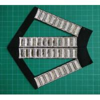 Buy cheap Customized Eco-Friendly Stone Decorated garment , Dress Black and white from wholesalers