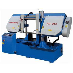 China CH-500 CHENLONG Hydraulic Vice Horizontal Band Saw Machine on sale