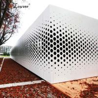China Building Decoration PVDF Coating Perforated Aluminum Sheet Metal on sale