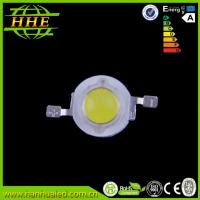 Cheap High brightness 1W high power LED , 140lumen - 150 lm white LED emitter for sale