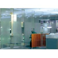 Cheap Tempered Glass Partition Wall For Office Room Convenient Operability for sale