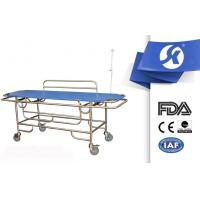 Cheap SS Stainless Steel Long Ambulance Gurney Guardrail Putted Down for sale