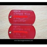Cheap Addding epoxy design dog tag metal , Make your own design metal tag for sale