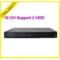 Cheap 16 Channel Surveillance Network Video Recorder HVR 2 HDD For IP Camera Recording for sale