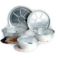 Buy cheap rectangular aluminum foil food containers with compartments wholesale from wholesalers