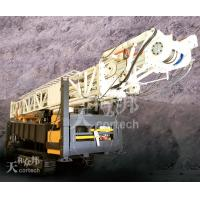 Cheap Hydraulic Rotary Air Circulation Drilling Rig , PS / 1100m Depth CMR1000A for sale