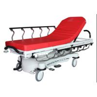 Cheap Red Color ABS Luxury Stretcher Hospital Emergency Bed , Easy To Clean for sale