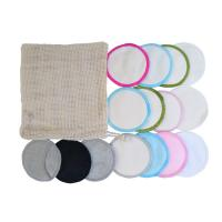 Cheap OEM Reusable Makeup Remover Pads With 2 Layer Super Absorb Dry / Ventilated Storage for sale