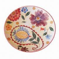 Cheap 8-inch Ceramic Plate in Round Shape for sale