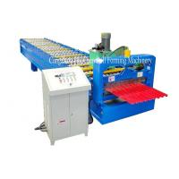 Cheap Garage Steel Roller Door Frame Roll Forming Machine , High Capacity for sale