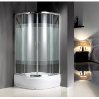 Cheap 4mm Glass Quadrant Shower Enclosure With Handle / Wheels for sale