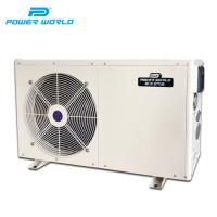 Cheap heat pump air source DC inverter air to water commercial heat pump for sale