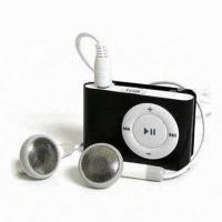 Cheap Clip MP3 Players, Good for Promotional Order, Brand Original Flash Chip, Available in Various Colors for sale