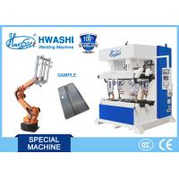 Buy cheap Automatic Spot Welding Machine With Loading Robot , Steel Cabinet Welding Machine from wholesalers
