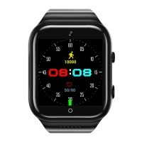 Cheap 5.0 MP Front Rear Camera SL8541E 4G Calling Smart Watch for sale