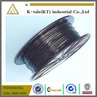 Quality top quality lifting 3mm pvc coated steel wire rope cheap stianless steel wire wholesale