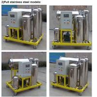 Used Cooking Oil Filtration equipment for removing water and impurities(stainless steel)