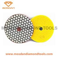 Cheap 125mm Resin Dry Polishing Pads for Marble Terrazzo Limestone for sale