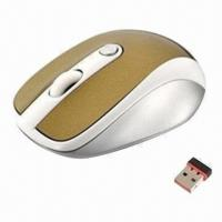 Cheap Newest Computer/Laptop 3D Optical Wireless Mouse, OEM and ODM Orders Welcomed for sale
