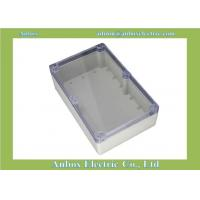 Cheap Waterproof Sealed Power Junction Box 263*182*60mm w Clear Cover for sale