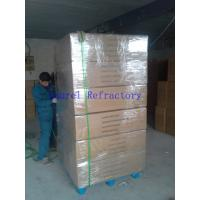 Cheap Customized Low Shrinkage Ceramic Fiber Refractory Paper For Gasketing , Sealing for sale