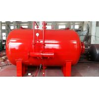 Cheap Carbon Steel 10 Ton Foam Bladder Pressure Vessel Tank Horizontal Type for sale