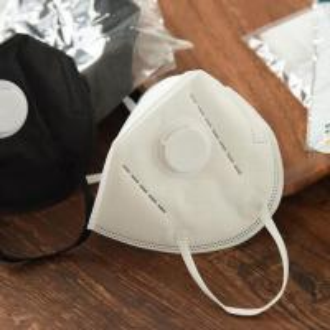 Cheap Cooler FFP2V Valved Dust Mask / Soft Nose Foam Added Comfortable for sale
