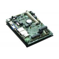 China 3.5 Inch Fanless 4 COM Embedded Industrial Motherboard Onboard AMD T56N Dual-Core CPU on sale