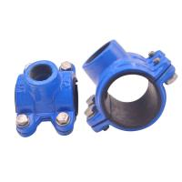 Cheap Grooved Universal Pipe Coupling Clamp Grooved Fittings Ul Fm Approved Mech for sale