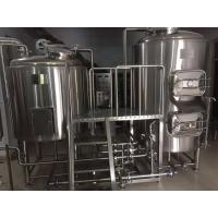 China Electric Brewhouse Craft Beer Equipment Micro Brewery System Turnkey Type on sale