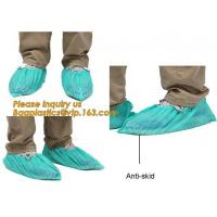 Cheap Disposable Blue waterproof rain boot/shoe covers,rain cover for shoes,Eco-friendly Professional Shoe cover made in China for sale