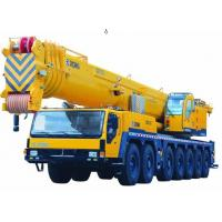 Cheap Durable 7-Axle Chassis Hydraulic Mobile Crane , 5-Axle Steering QAY300 All Terrain Crane for sale