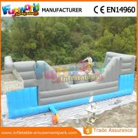 Cheap Inflatable Obstacle Course for Adults / Blue and Grey Inflatable Big Baller for Kids wholesale