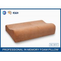 Health Care PU Memory Foam Contour Pillow For Neck / Shoulder And Back Pain