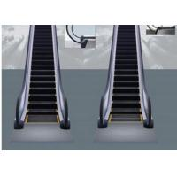 Buy cheap Heavy Duty Escalator Yellow edges on steps , Outdoor Escalator from wholesalers