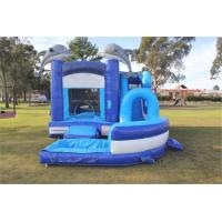 Cheap Commercial Kids Inflatable Bouncer Castle Pool With Logo Printing for sale