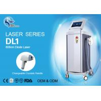 Cheap Germany Laser Bars 808nm Diode Laser Hair Removal Machine For Salon 600W for sale