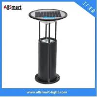 Cheap Aluminum Alloy H60cm Garden Bollard Light Solar For Garden/Park Solar Lighting for sale