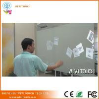 "Cheap 8"" top quality projector touch film for display touch foil through glass for sale"