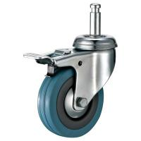 Cheap 3 Swivel Friction Grip Ring Stem Casters For Bussing And Utility Carts for sale