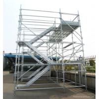 Cheap Outdoor Modular Kwikstage Scaffolding / Quick Stage Scaffolding For Engineering Construction wholesale