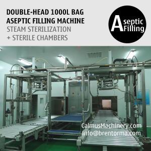 Cheap Double-Head 1000 Liter IBC Filler Equipment 1000L Bulk Bag Filling System for sale